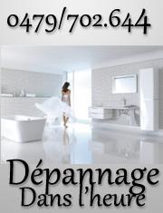 dépannage plombier Jette Une réparation Urgente fuite d'eau tuyaux, robinet, chasse d'eau, boiler, chaffe-bain, Plombier Jette dans l'heure top chrono..